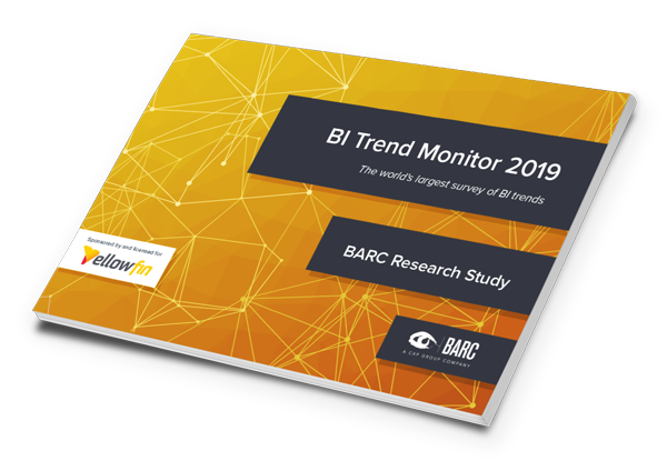 BI Trend Monitor 2019 Yellowfin