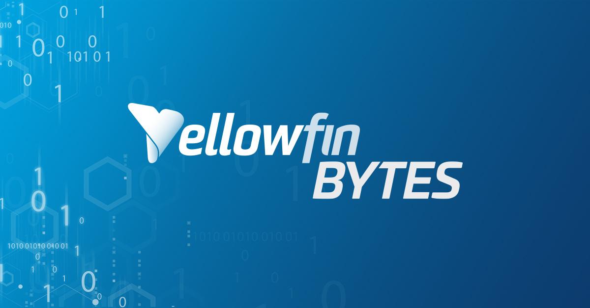 Yellowfin Bytes:強化されたYellowfin シグナルの管理方法