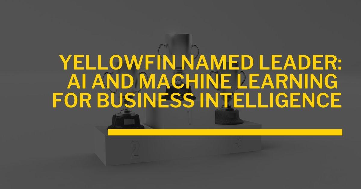 ビジネスインテリジェンスのための人工知能と機械学習の利用でリーダーに選出