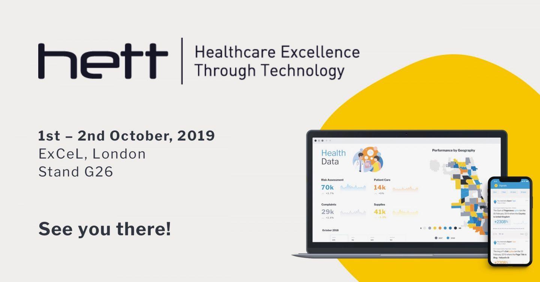 HETT 2019(英国)にて医療機関向けに自動アナリティクスを紹介