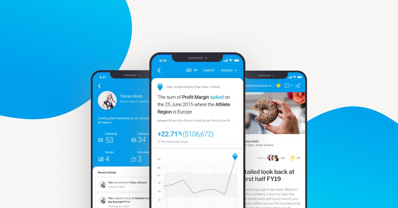 人々へのデータ – 新しいYellowfin モバイルアプリがより多くの人々のデータとのつながり方を変える理由