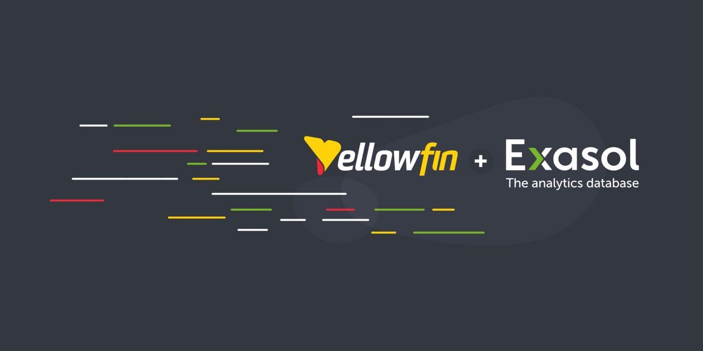 YellowfinはExasolとのパートナーシップを強化し、顧客に卓越したアナリティクスパフォーマンスを提供
