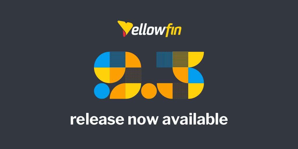 【リリース情報】Yellowfin 9.3
