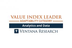 2021年 アナリティクスおよびデータのValue Indexで、Ventana ResearchはYellowfinをValue Index Leaderに選出しました