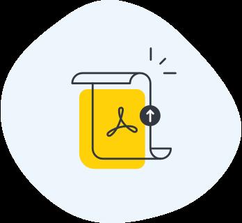 Export to PDF improvements icon