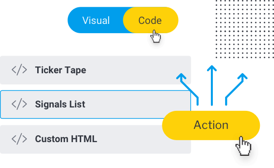 Build actionable and engaging experiences on the fly