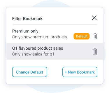 Default Filter Bookmarks