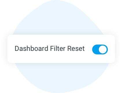 Toggle Dashboard Filter Reset